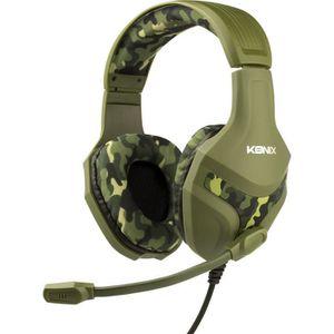 CASQUE AVEC MICROPHONE Casque Konix PS-400 Camouflage pour PS4
