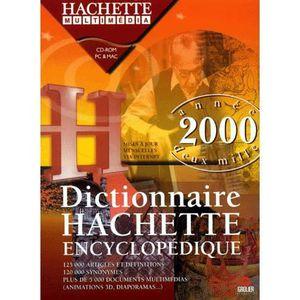 CULTURE DICTIONNAIRE HACHETTE ENCYCLOPEDIQUE