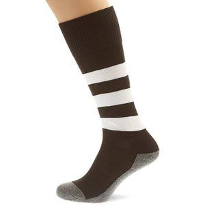 BLK Stripe Chaussettes - Noir/Blanc