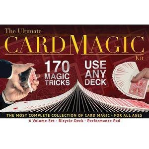 JEU MAGIE Ultimate Card Kit Magie, 170 tours de magie pour l