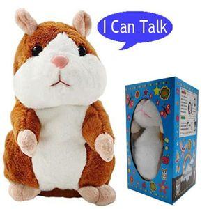 PELUCHE Parler Hamster Répète ce que vous dites jouets en