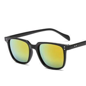 LUNETTES DE SOLEIL lunette homme carré orange