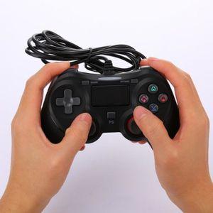 PACK ACCESSOIRE Manette de jeu - Manette filaire PS4 avec contrôle