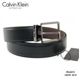 18ba788a0b0b Ceinture Calvin Klein Collection réversible et ajustable en cuir pour hommes .