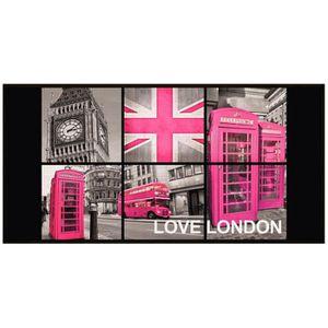 Deco london rose achat vente deco london rose pas cher for Decoration angleterre pour chambre