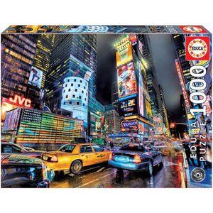 PUZZLE EDUCA Puzzle 1000 Pièces - Times Square, New York