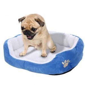 CORBEILLE - COUSSIN Canapé lit-chien confortable couverture chaude ave