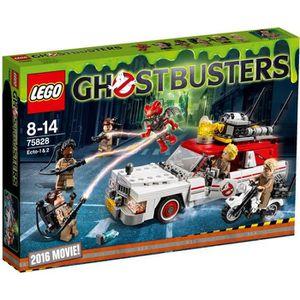 ASSEMBLAGE CONSTRUCTION Lego 75828 Ghostbusters : Ecto-1 et 2 aille Unique
