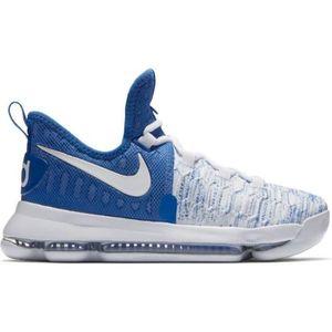 BASKET Chaussure de basket Nike Zoom KD IX GS blanche et