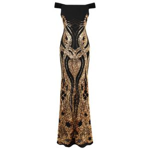 3d7a95337b4 ROBE DE CÉRÉMONIE Angel-fashions Femme Robe de soiree de luxe a sequ
