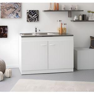 meuble sous vier achat vente meuble sous vier pas cher cdiscount. Black Bedroom Furniture Sets. Home Design Ideas