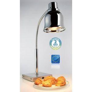 LAMPE CHAUFFANTE Lampe chauffante sur pied - Chromée - 250 W - Sofr