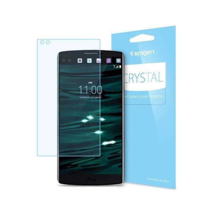 SPIGEN Film Protection écran Crystal pour LG V10 Transparent