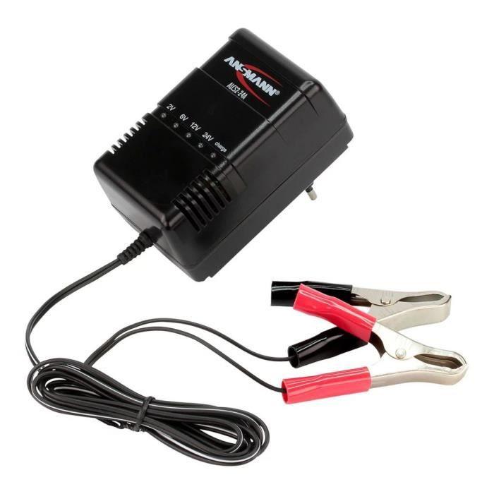 CHARGEUR DE BATTERIE Ansmann Chargeur de batteries plomb-acide ALCS 2-2