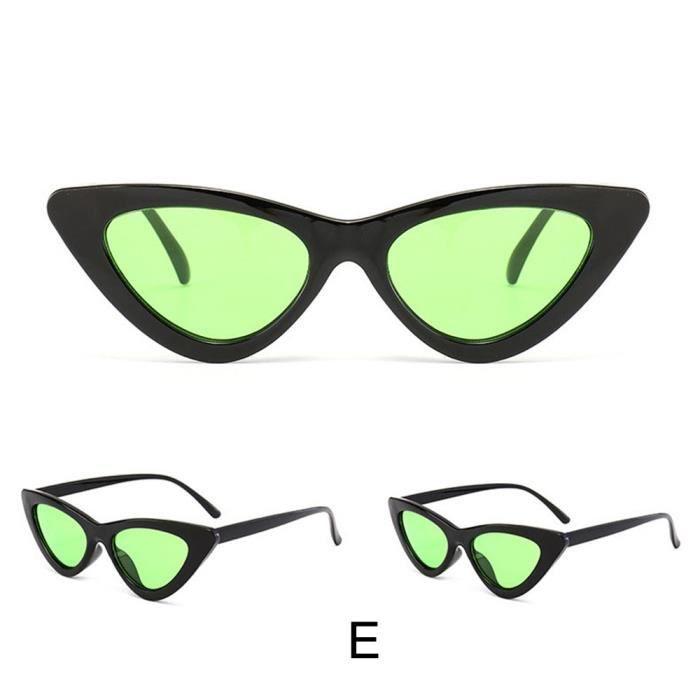 Deuxsuns®Femmes Fashion Cat Eye Shades lunettes de soleil UV intégré colorées lunettes@zf331