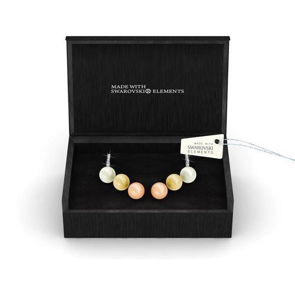 Idée Cadeau Noël - Coffret 3 Paires de Boucles dOreilles Perles et Cristal de Swarovski Elements - Blue Pearls