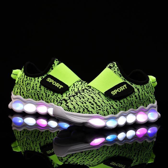 LEDEnfants Chaussures Lumineux Chaussures de ...