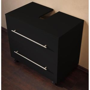 meuble vasque 70 cm achat vente pas cher. Black Bedroom Furniture Sets. Home Design Ideas