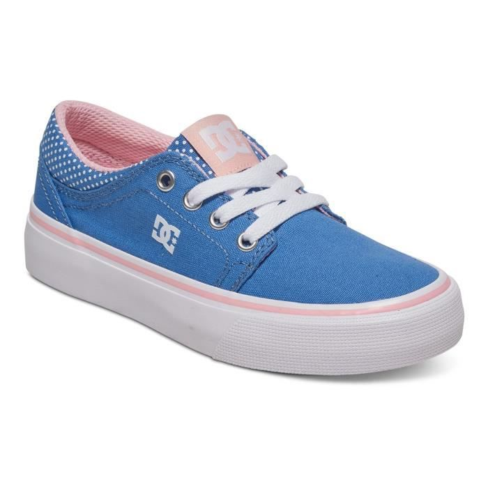 Chaussures DC SHOES TRASE TX SE BLUE white print (uwp)