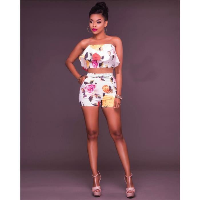 Femme Pantacourt Robes de loisirs 2 pièces 3D Impression Qualité Supérieure pantacourt Vetements Nouvelle Mode Grande Taille S-XL