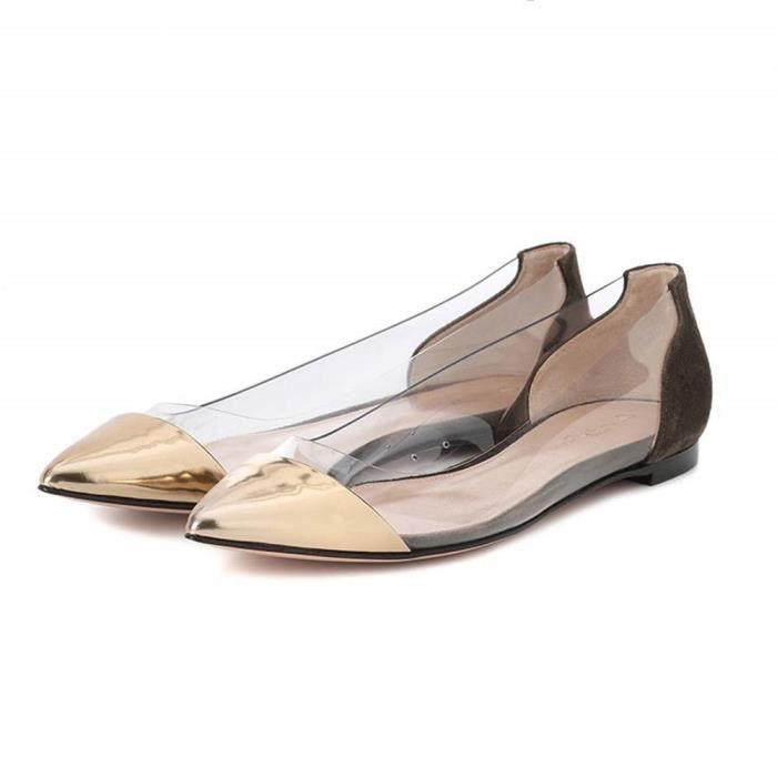 Chaussures Plates Ballerine Sandales Confortables Femmes Femme mode Hiver Nouveau Automne Sexy Femme rrCdYwq