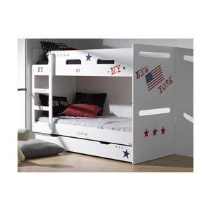 lit superpose feroe. Black Bedroom Furniture Sets. Home Design Ideas