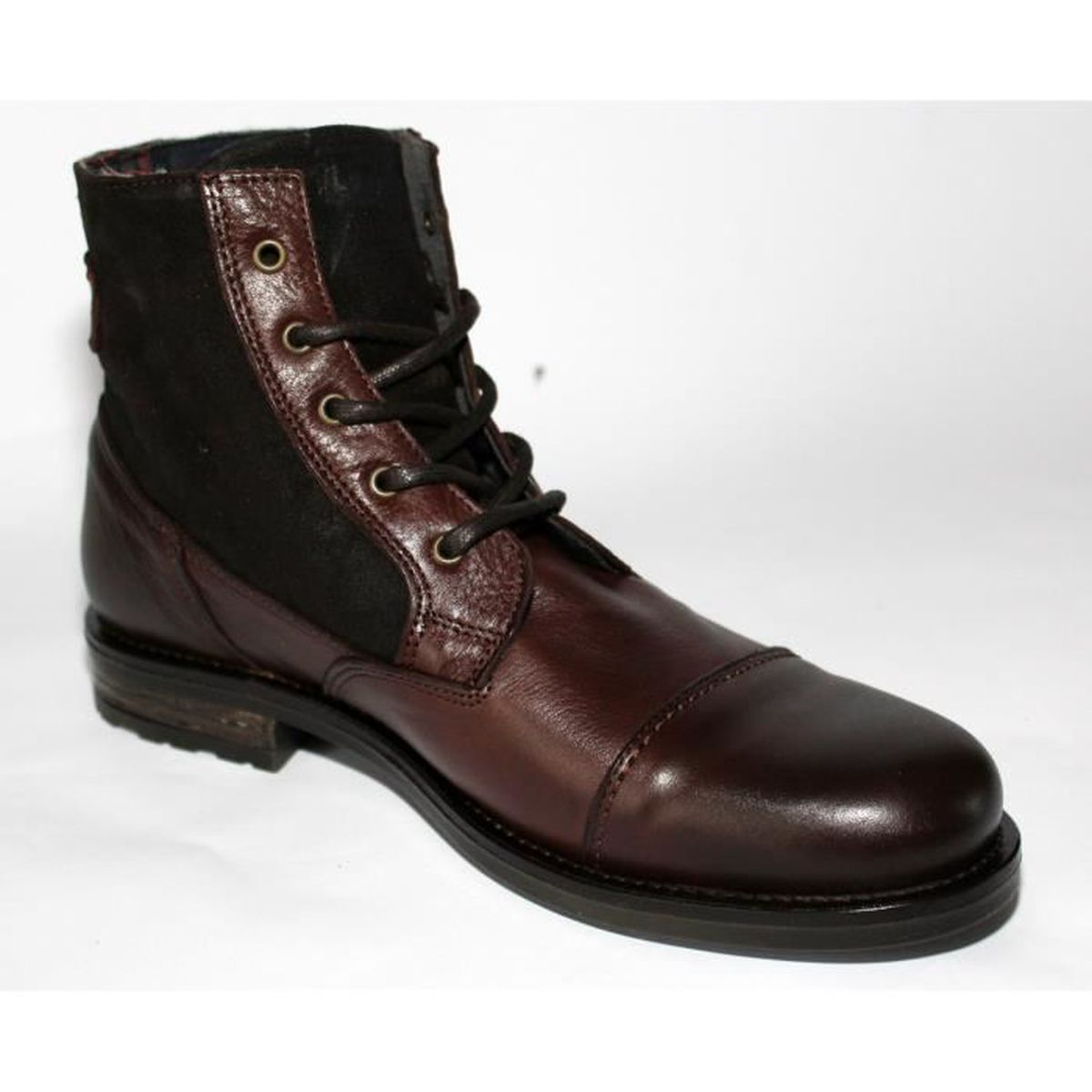 BOTTES CUIR CHAUSSURES MODE Homme T 44 NEUVES DCoo64Hlr