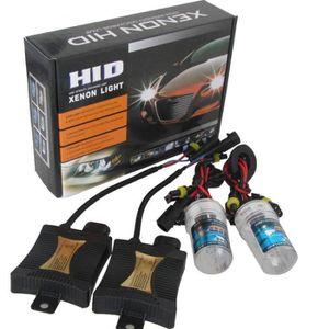 PHARES - OPTIQUES  Kit Conversion HID 55W H7 8000K Ampoules Xénon Ba