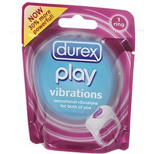 ANNEAU - COCKRING Durex Play Vibrations. Durex.