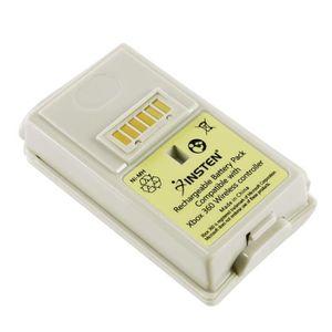 BATTERIE DE CONSOLE INSTEN® Blanc 3600mah Batterie de remplacement De