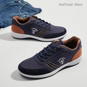 Plus taille hommes baskets chaussures de skate PU cuir supérieur Lace up bottes ffAlaa79pZ