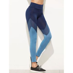 PANTALON DE SPORT Legging Sport Femmes couper et coudre color-block 8685e23453e