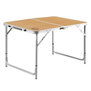 TABLE DE CAMPING O'CAMP Table Valise Aluminium 6 Personnes