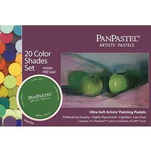 PASTELS - CRAIE D'ART 20 Teintes PanPastel Set