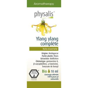 HUILE ESSENTIELLE Physalis huile ESSENTIELLE Ylang ylang  10 ml Bio