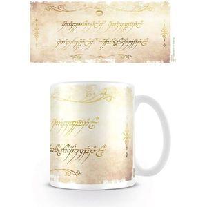 BOL - MUG - MAZAGRAN Le Seigneur des Anneaux - Mug Ring Inscription