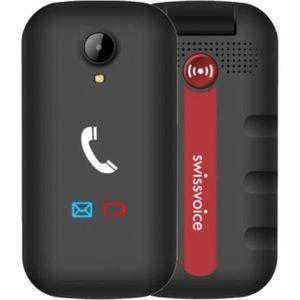 Téléphone portable SWISSVOICE S28 - Téléphone mobile débloqué 2G à cl