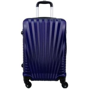 VALISE - BAGAGE Valise cabine 4 roues 55cm ABS -
