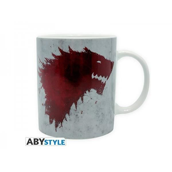 Mug Games Of Thrones - 320 ml - The North remembers- avec boîte - ABYstyle