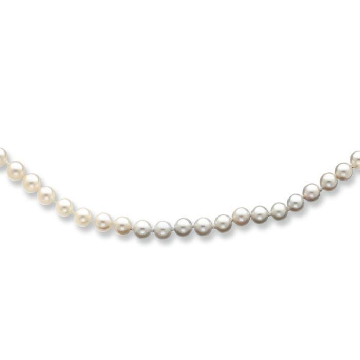 5–14 carats 5,5 mm Blanc perle de culture Akoya SW - 16 -