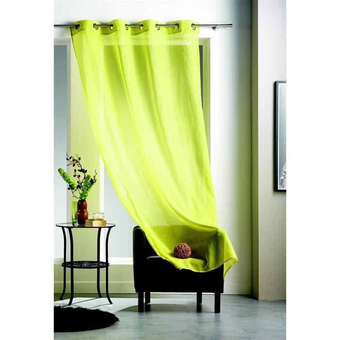 rideau voilage vert. Black Bedroom Furniture Sets. Home Design Ideas