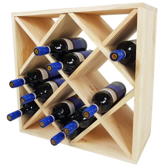 casier a vin bois achat vente pas cher. Black Bedroom Furniture Sets. Home Design Ideas