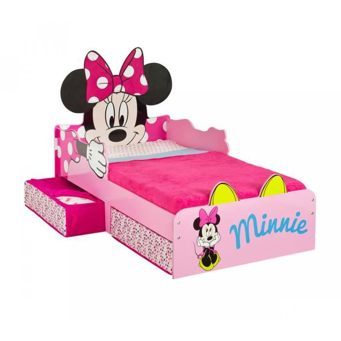 lit enfant minnie avec matelas