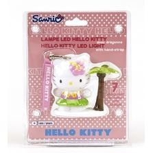 FIGURINE - PERSONNAGE Lampe Decoration Hello Kitty Beach 8 cm