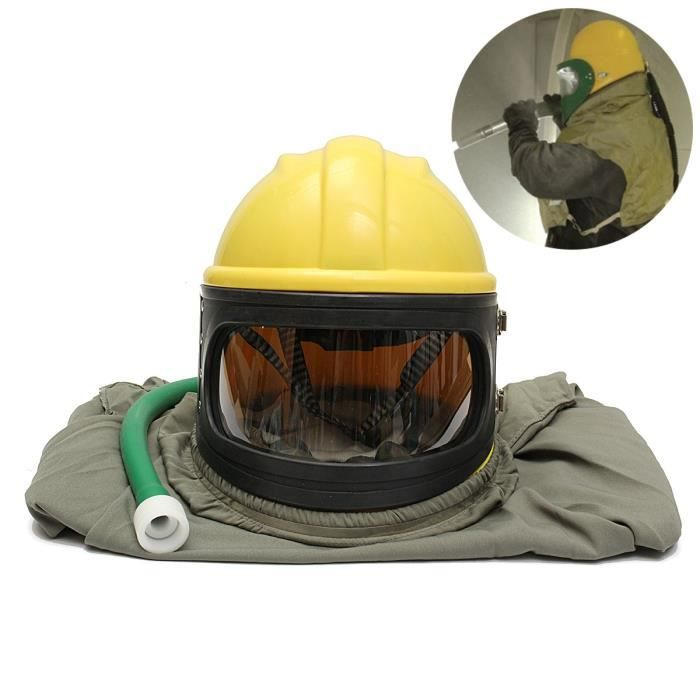 BACHE BATEAU Couvre casque sable Sablage Sand Blasting Helmet+P
