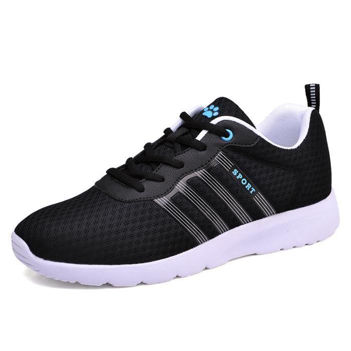 Hommes basket chaussures pour hommes occasionnels espadrilles hommes chaussures de sport chaussures de course respirant uxCAlEWrt