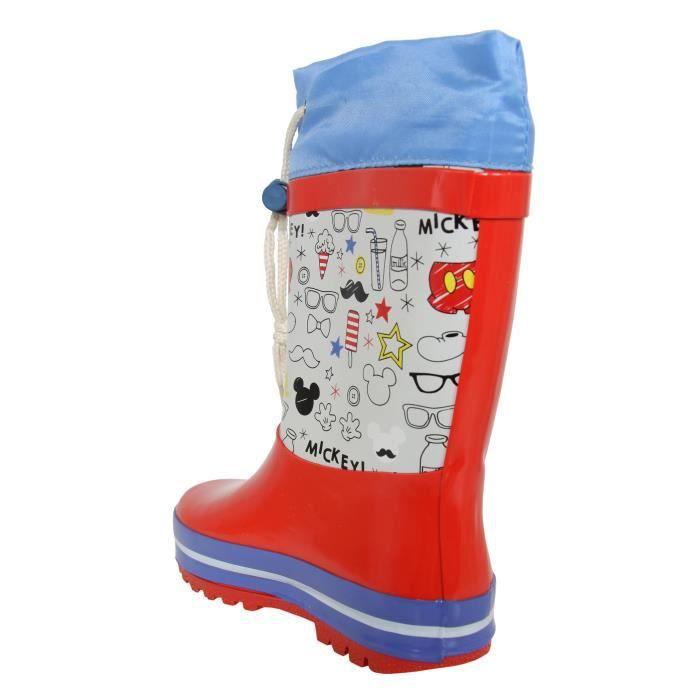 Bottes de pluie pour Garçon DISNEY 2300-284 ROJO