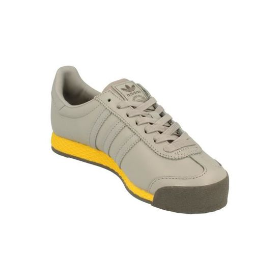 bf4363bbecb39 Adidas Originals Samoa Vintage homme Trainers Sneakers Gris Gris - Achat   Vente  basket - Soldes  dès le 9 janvier ! Cdiscount