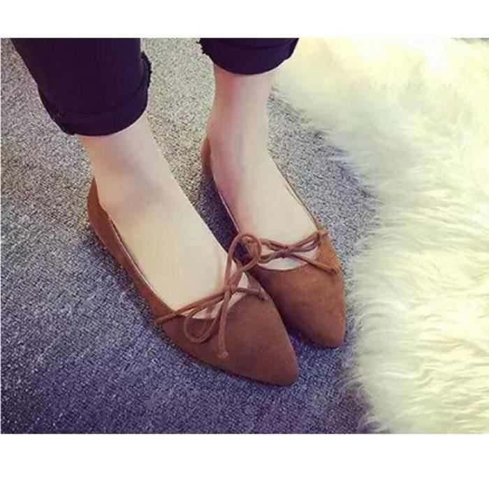XZ620C5XZ620C5Femmes Mode bout pointu Casual bowknot Mocassins Comfy Ballet Flat Party Chaussures O6kn1cqSaP