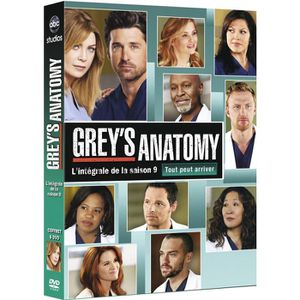 DVD SÉRIE DVD Grey's Anatomy season 9